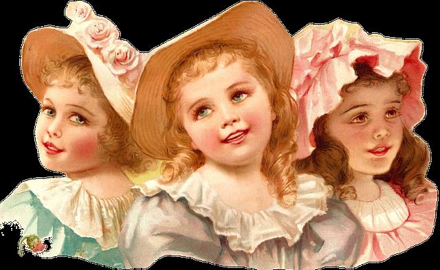 Girls, Children, Teenager, Hat, Beauty, Beautiful, Joy