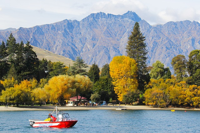 Beautiful, Scenic, Mountain, Autumn, Travel, Sea, Ocean