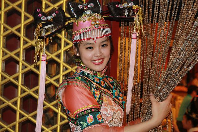 Character, Beauty, Ancient Costume