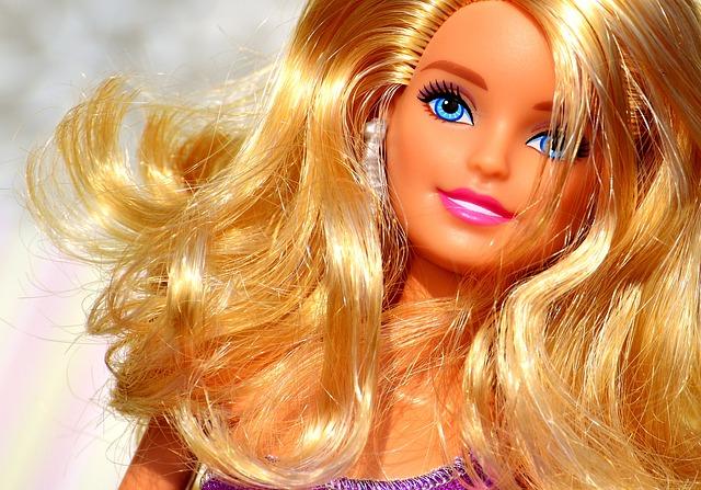 Beauty, Barbie, Pretty, Doll, Charming, Children Toys