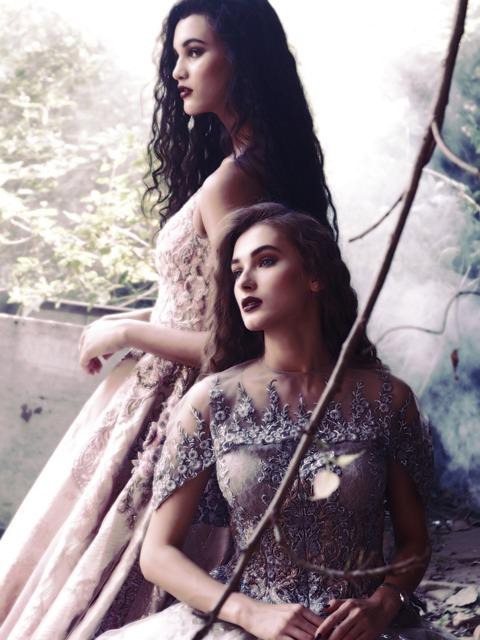 Fashion Shoot, Women, Dresses, Beauty, Production