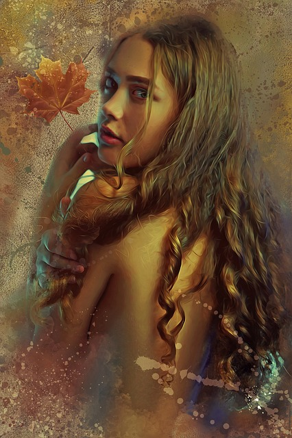 Fantasy, Dark, Gothic, Woman, Female, Young, Beauty