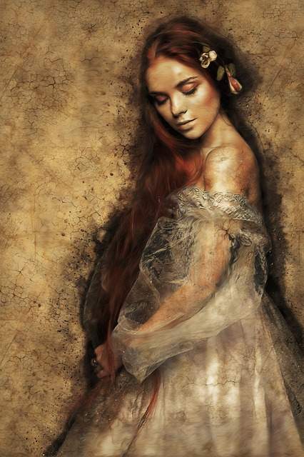 Woman, Female, Beauty, Lady, Red Hair, Long Hair
