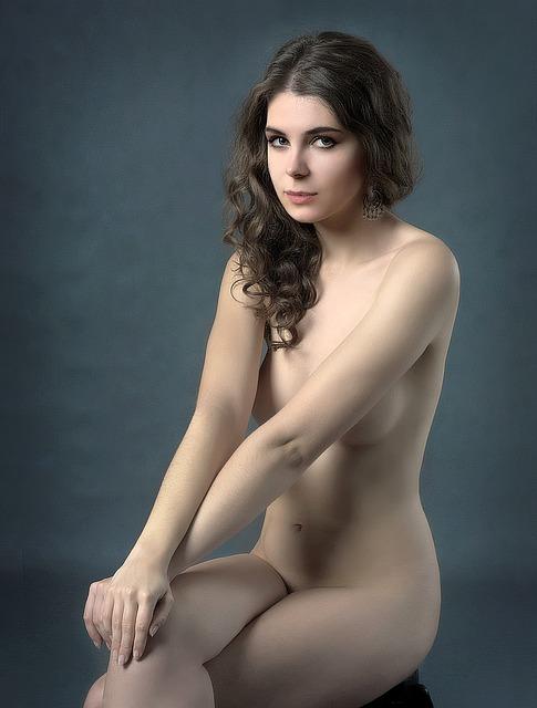 Girl, Beauty, Body, Portrait, Woman, Posing, Hands