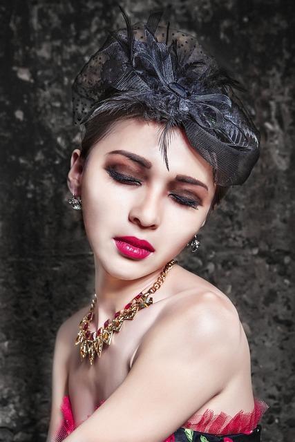 Portrait, Woman, Asian, Girl, Model, Make-up, Beauty