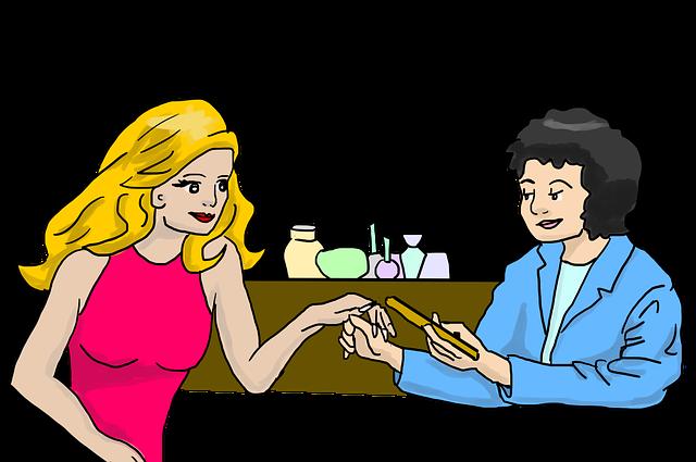 Beauty Salon, Beauty, Manicure, Nail Polish, Nail Care