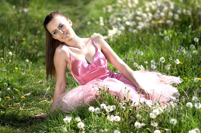 Girl, Dandelion, Pink, Supplies, Beauty