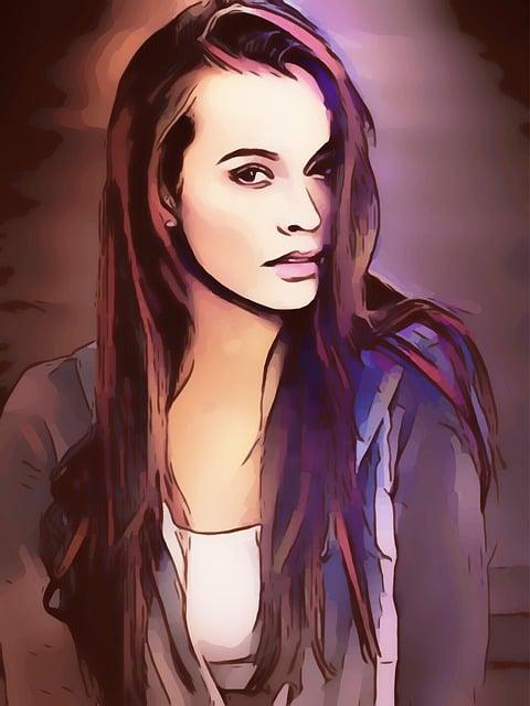 Woman, Brunette, Long Hair, Pretty, Beautiful, Beauty