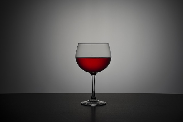 Wine, Alcoholic Drink, Bebe, Glass Of Wine, Darkness