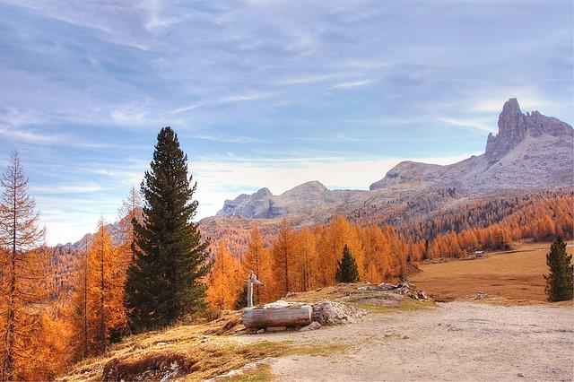 Becco Di Mezzodi, Dolomites, Mountains, Belluno, Hike