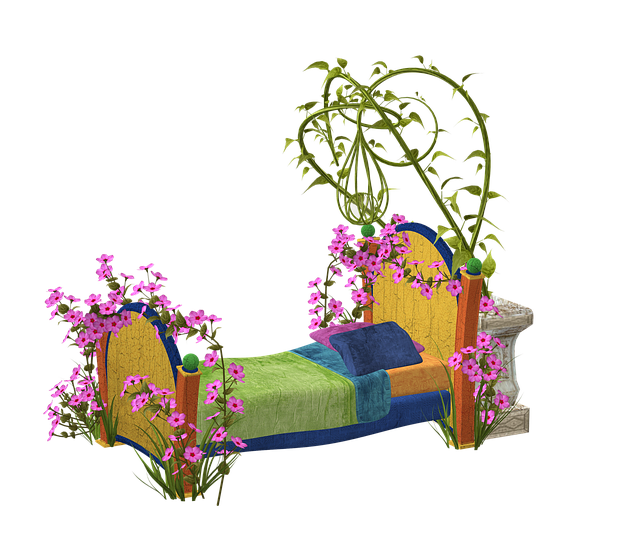 Bed, Colorful, Blossom, Bloom, Nature, Hell, Spring