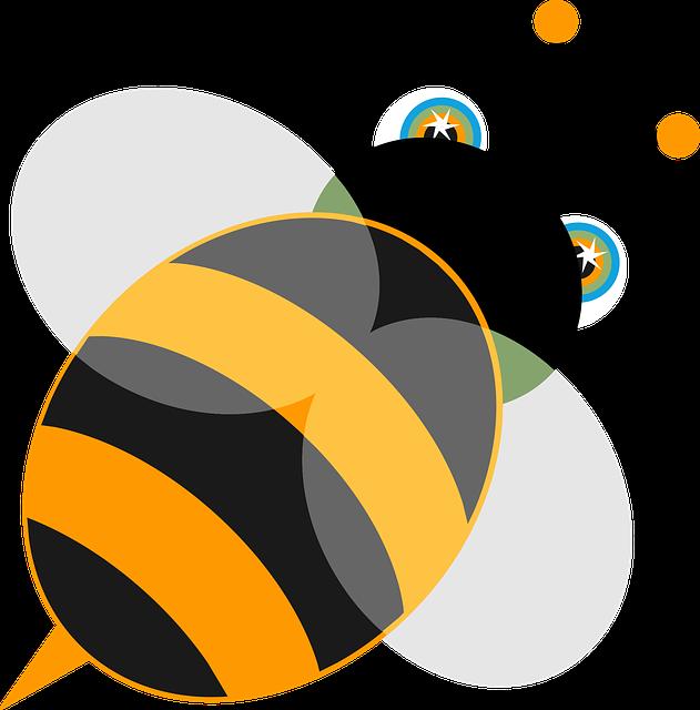 Bee, Insect, Animal, Wild, Nature, Yellow, Wildlife