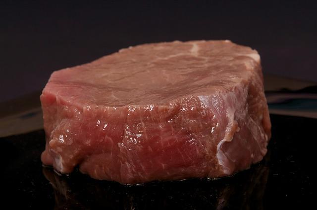 Fillet, Fresh, Meat, Raw, Red, Steak, Beef, Cow