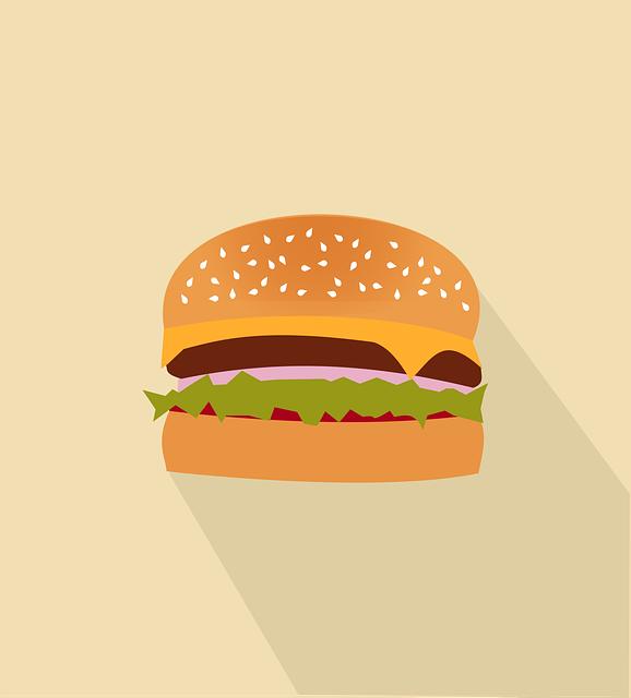 Beef, Burger, Fast Food, Food, Hamburger, Junk