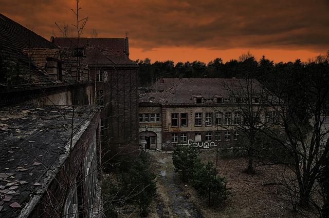 Beelitz, Health Resorts, Ruin, Hospital, Pot Dam