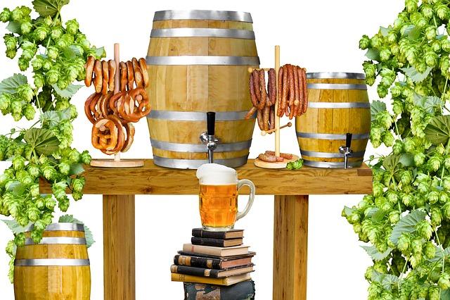 Drink, Eat, Beer, Beer Glass, Mug, Beer Keg, Party