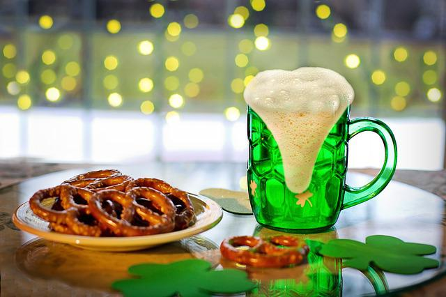St Paddy's Day, St Patrick's Day, Green Beer, Beer