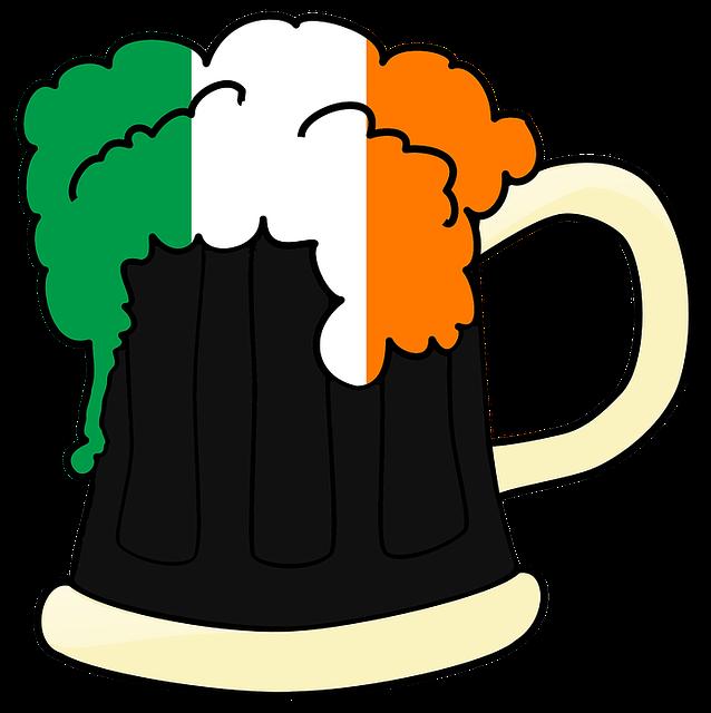 Ireland, Beer, Irish, Green, Saint, Celebration, Day