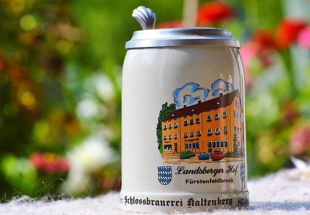 Beer Mug, Krug, Beer Stein, Beaker, Ceramic, Beer, Mug