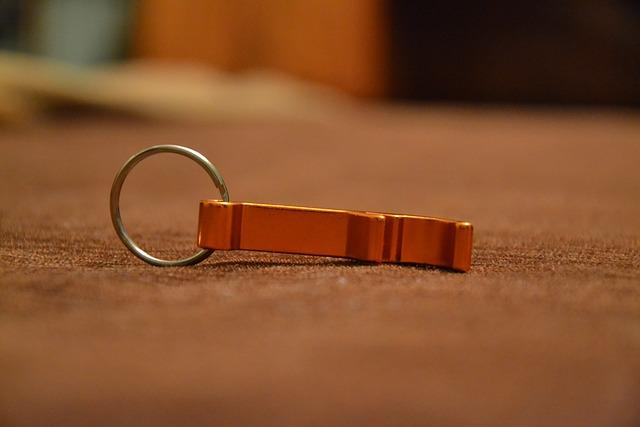 Bottle Opener, For Beer, Beer Opener, Brylok, Key Ring