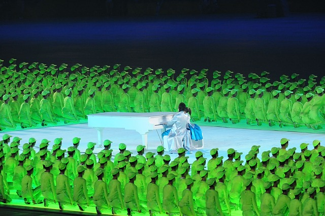 Beijing, China, Opening Ceremony, Olympic Games