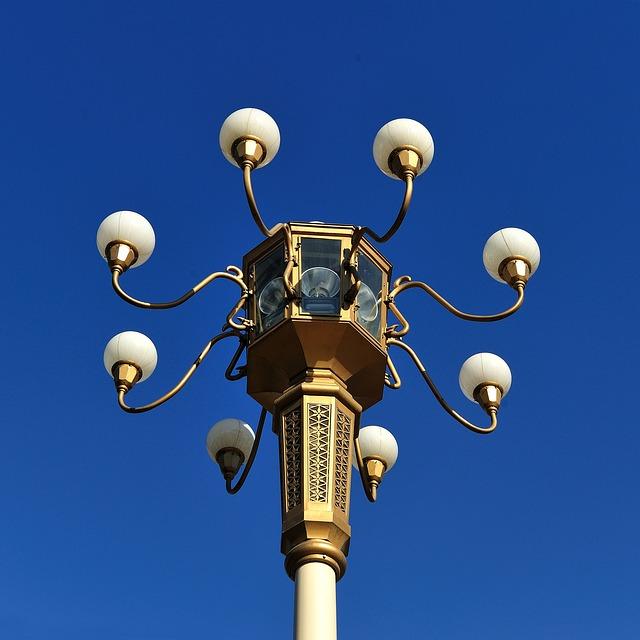 Street Lamp, Chang'an Avenue, Beijing