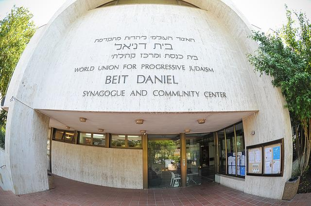 Beit-daniel, Reform Synagogue, Synagogue Tel Aviv