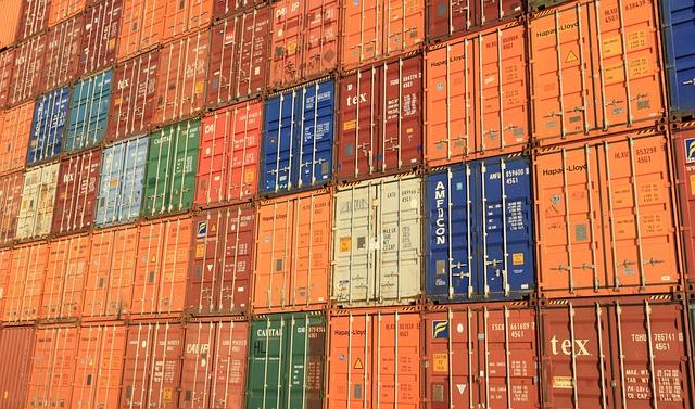 Belgium, Antwerp, Shipping, Container, Freight, Cargo
