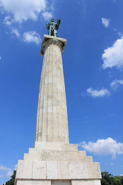 Monument, Belgrade, Serbia, Europe, Landmark, City, Old
