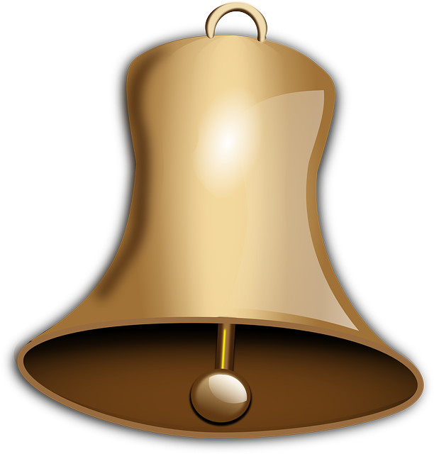 Church Bell, Bell, Gold, Sound, Christmas, Church