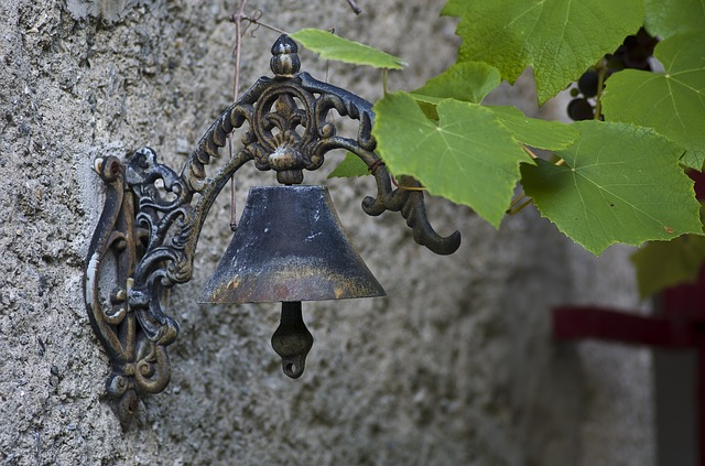 Bell, Metal, Ring, Metallic, Bronze, Close, Old