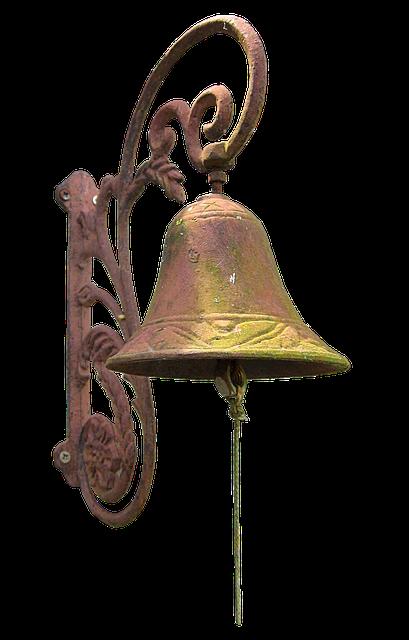 Bell, Old, Metal, Antique, Ring, Ornament, Bimmeln