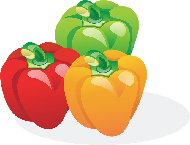 Bell Peppers, Vegetables, Food, Sweet Peppers, Peppers