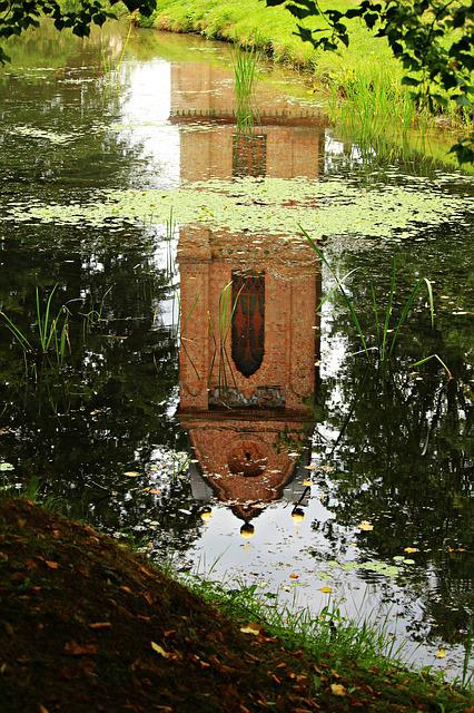 Bell Tower, Building, Ludwigslust-parchim, Mirroring