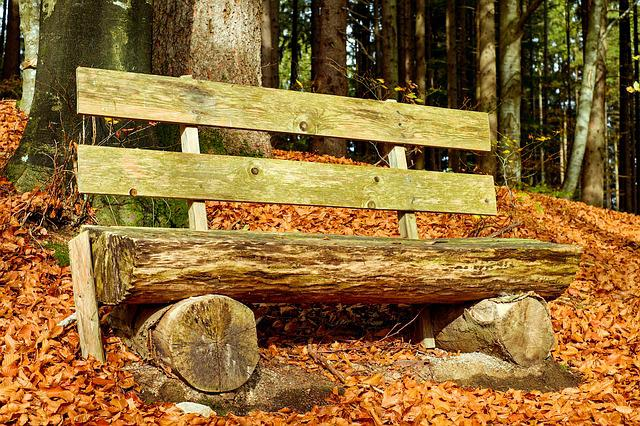 Bank, Bench, Wooden Bench, Old Bench, Seat, Rest