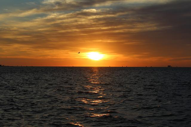 Saturday, Sunrise, Coastal, Bend, Rockport, Texas