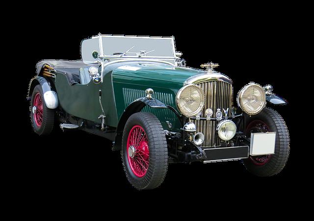 Vehicle, Traffic, Automotive, Oldtimer, Bentley