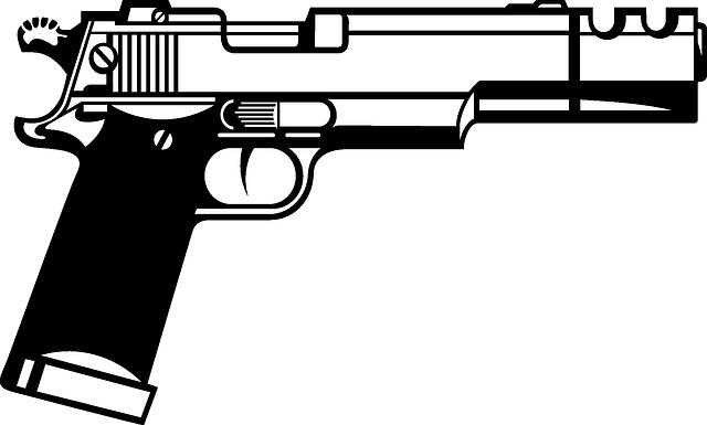 Handgun, Beretta, Semiautomatic, Gun, Pistol, Weapon
