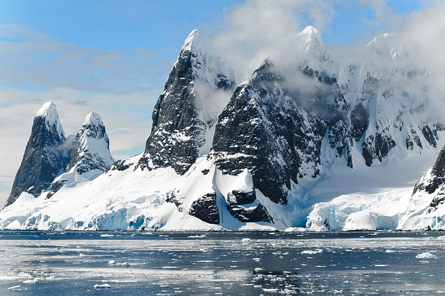 Mountains, Ice Bergs, Antarctica, Berg, Ice, Iceberg
