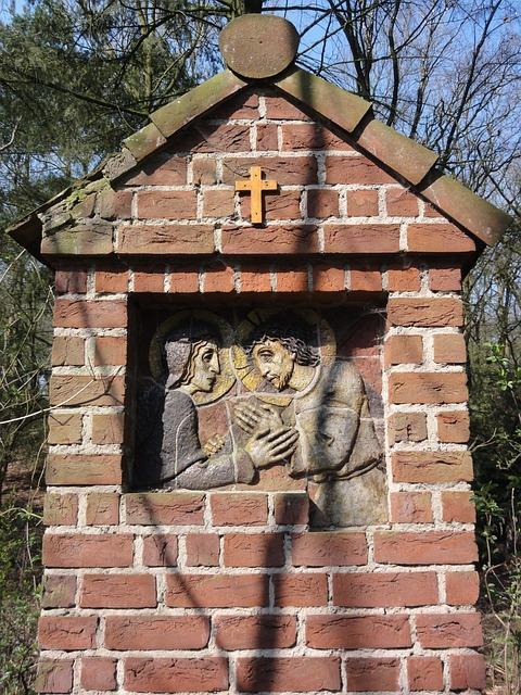 Bergharen, Stations Of The Cross, Jesus, Maria