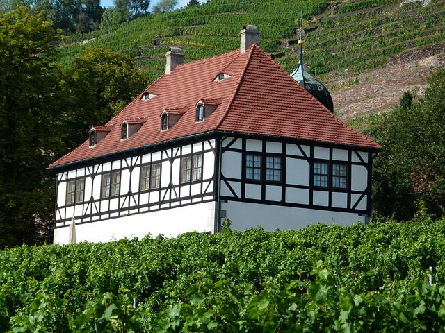 Berghaus, Radebeul, Cultural Heritage, Monument, Saxony