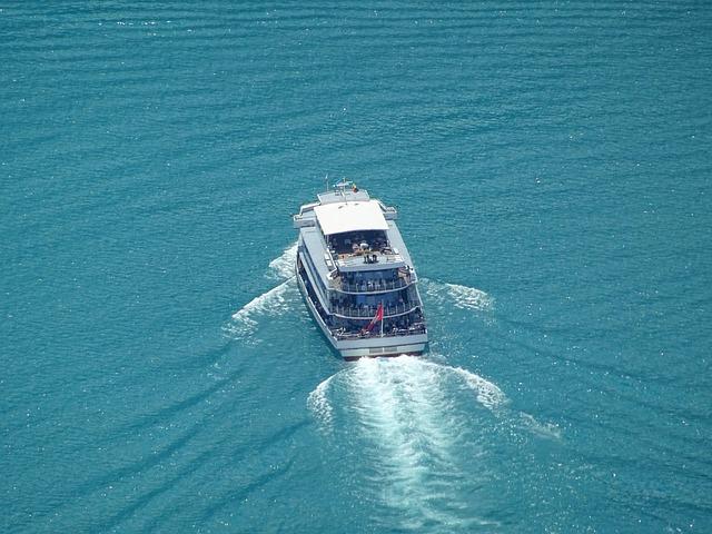 Boot, Switzerland, Bergsee, Tourism, Blue, Ferry