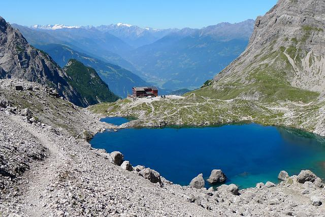 Mountains, Bergsee, Landscape, Nature, Mountain Hut