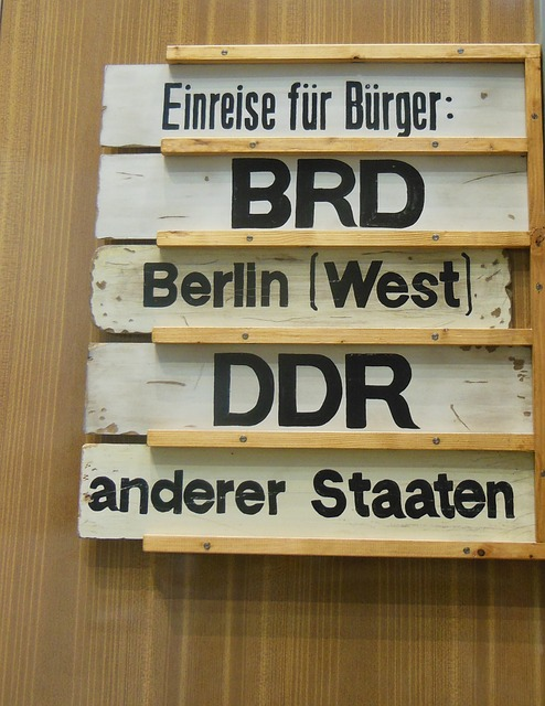 History, Border, Berlin, Ddr, Historically