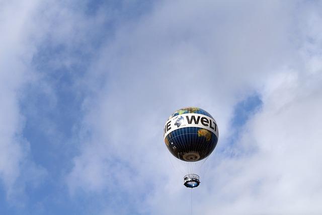 Berlin, Balloon, Float, Vista Balloon, Capital
