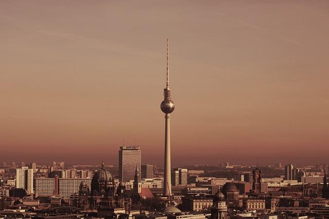 Berlin, Tv Tower, Skyline, Alex, Berlin Cathedral
