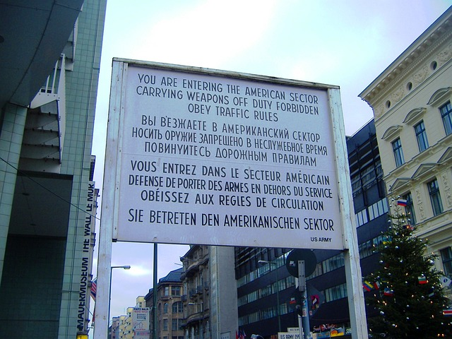 Checkpoint Charlie, Berlin, Berlin Border, Checkpoint