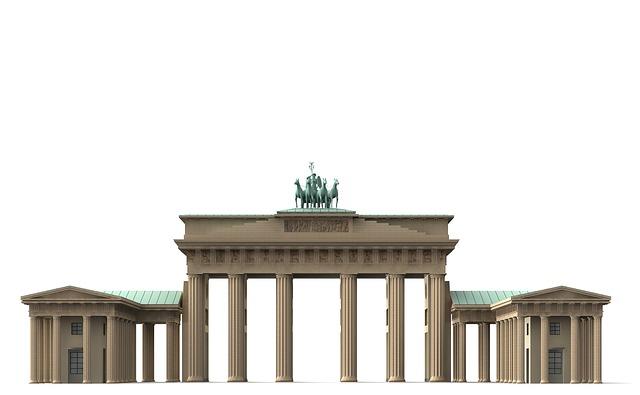 Brandenburg Gate, Berlin, Landmark, Columnar