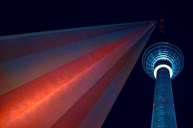 Berlin, Tv Tower, Capital, Alexanderplatz, Landmark