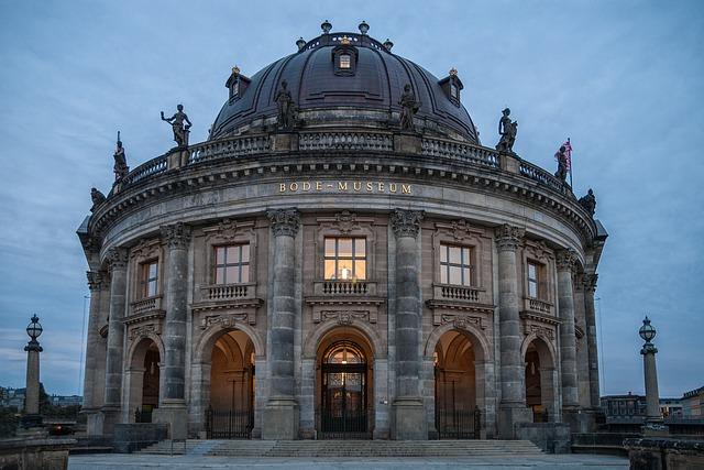 Berlin, Bode Museum, Museum Island, Architecture